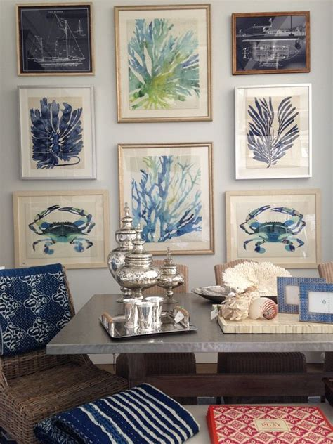 seashore home decor 42 wonderful wall gallery ideas loombrand