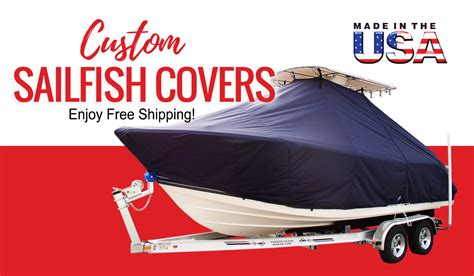 keep your sailfish boat like new with quality made covers - Sailfish Boats Quality