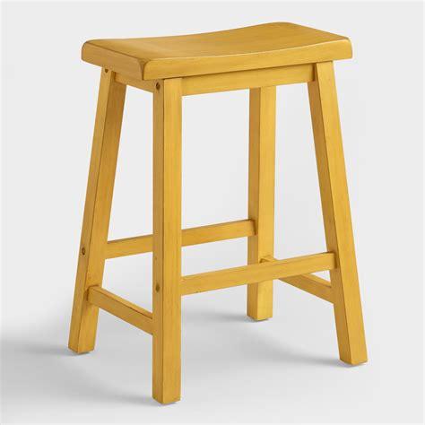 yellow schoolhouse counter stool world market