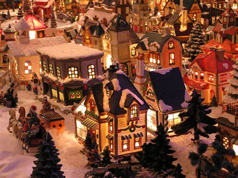 christmas village sets wallpapers 2013 2013 happy xmas