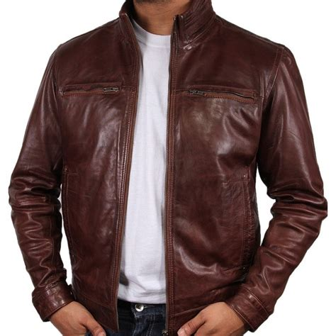 brown leather jackets s brown leather jacket chicago
