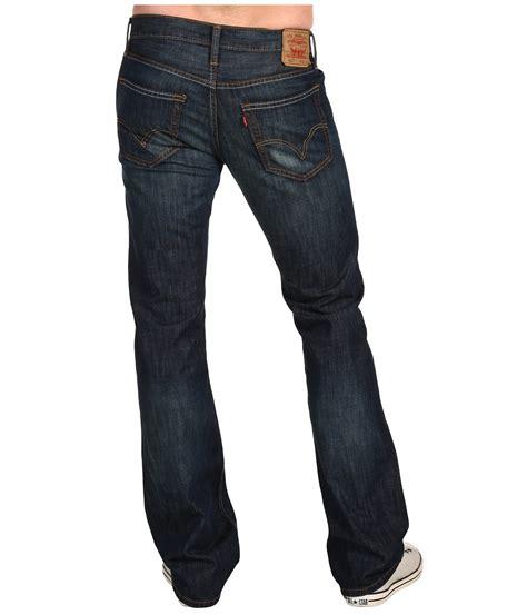 mens slim boot cut levi s 174 mens 527 slim bootcut at zappos