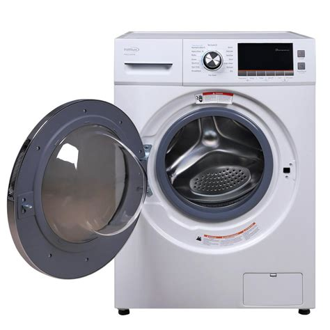 Automatic Dryer premium 2 0 cu ft all in one front load washer and electric dryer in white pwdc202fm the