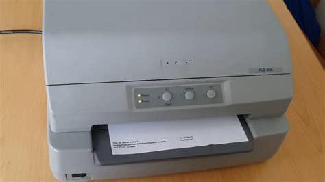 Kabel Print Printer Epson Plq 20 cara test print manual printer epson plq 20
