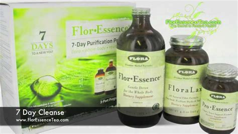 7 Day Detox Cleanse Tea by 7 Day Flor Essence Tea Total Detox