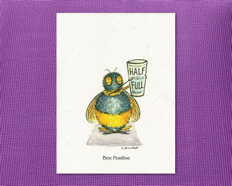 bee cards bee positive just bee me greeting cards just bee