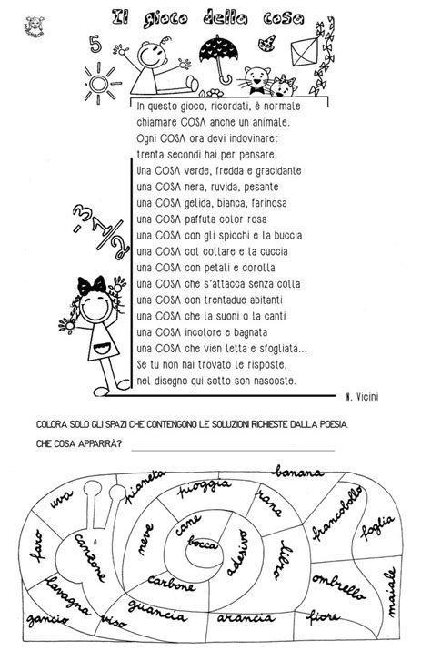 Italian Worksheets by Italian Worksheets For Primary School 1000 Images About