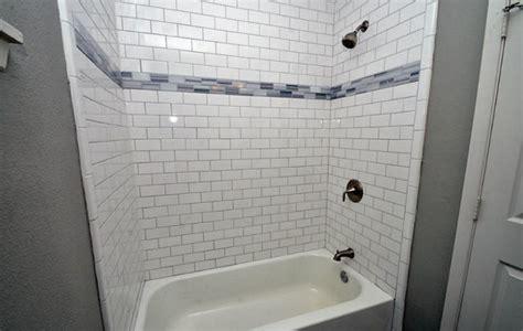 Bathroom Restoration Ideas subway tile shower design to beautify your bathroom area