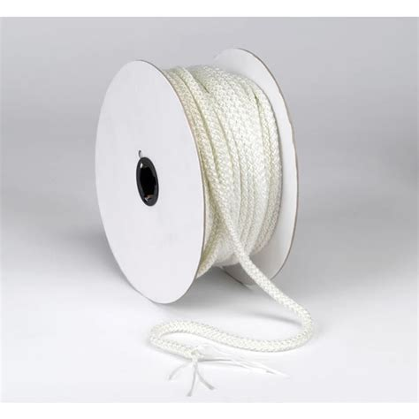 fireplace gasket rope homesaver white rope gasket 1 quot x 25