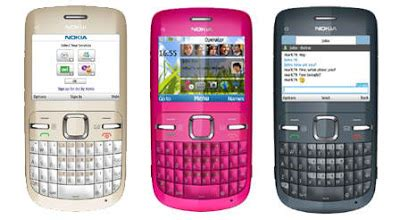 Hp Nokia C3 01 Terbaru harga handphone update may 2010