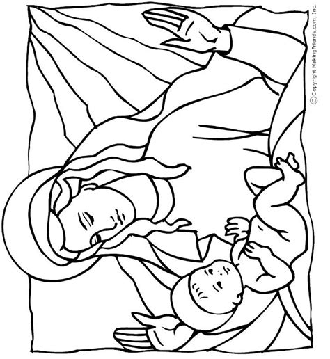 coloring pages of baby jesus baby jesus coloring page bible crafts pinterest