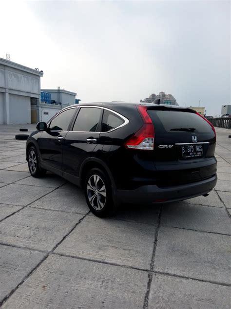 Jual Honda Crv 2 cr v honda crv 2 4 matic 2013 hitam mobilbekas
