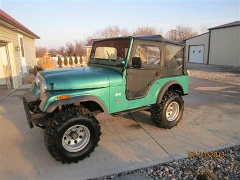 1971 Jeep Cj5 Sell Used 1971 Jeep Cj5 Dauntless V6 225 All Metal