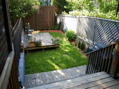 small backyard decks 23 small backyard ideas how to make them look spacious and