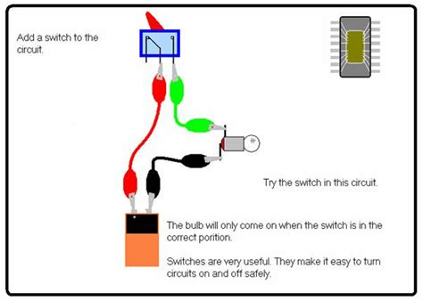 how to make a electric circuit with switch science for school home