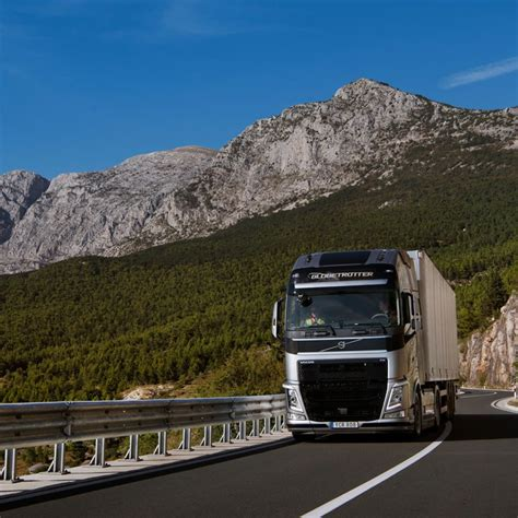 first volvo truck flying passenger marks another world first for volvo