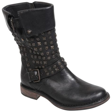 motorbike boots australia ugg australia womens conor studded leather motorcycle