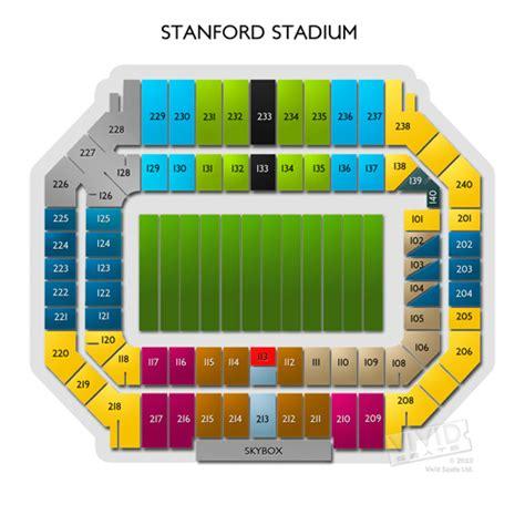 stanford stadium seating stanford stadium tickets stanford stadium seating chart