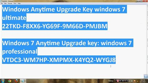 windows 7 ultimate activation key f