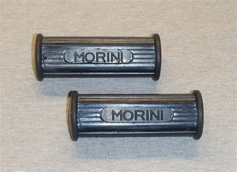 rubber st with logo morini foot peg rubber set w logo