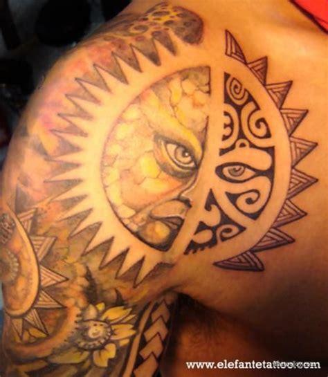 cool sun tattoos polynesian tribal sun i moustach you a question