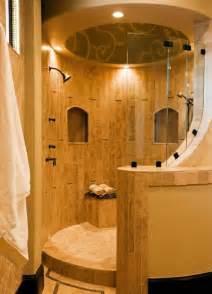 open shower bathroom design rounded open shower home design ideas pinterest