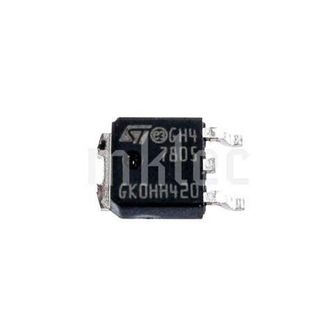 5v Voltage Regulator Smd by L7805cdt Tr 5v 1a Dc Voltage Regulator Smd