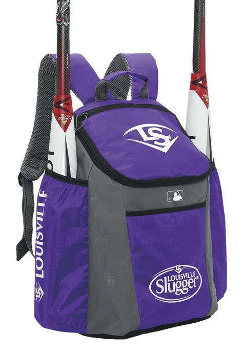 baseball bat bag softball equipment backpack tote louisville slugger