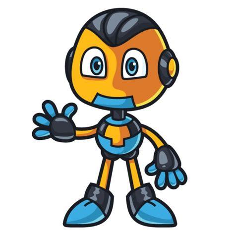 imagenes de robots inteligentes robot caract 232 re mignon agitant la main t 233 l 233 charger des