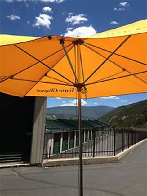 oversized patio umbrella oversize umbrella patio garden restaurant veuve clicquot