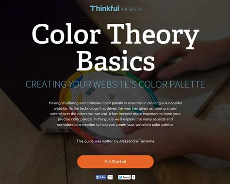 color theory basics pixels of the week web design links not to miss