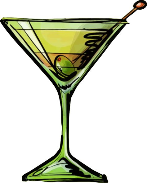 martini cartoon clip art clipart dirty martini cocktail