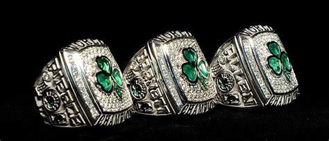 boston celtics championship rings tradition