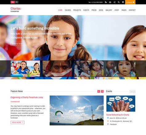 2018 Premium Wordpress Themes Wplook Themes Donation Website Template