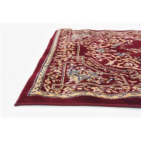 Burgundy Area Rugs Charlton Home Oskar Burgundy Area Rug Reviews Wayfair