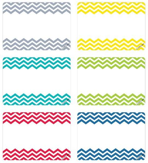 chevron pattern name tags 40 best chevron classroom theme images on pinterest