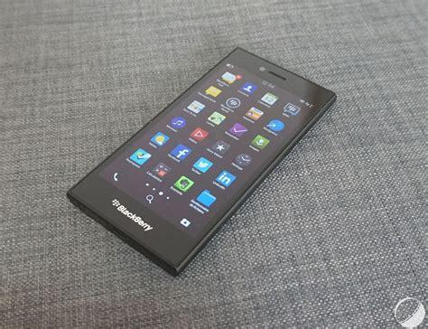 blackberry leap prise en main du blackberry leap un z30 l 233 g 232 rement