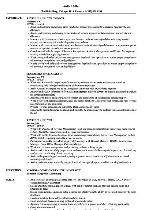 Revenue Accountant Cover Letter by Revenue Accountant Sle Resume Sle Cover Letter For Accounting Assistant