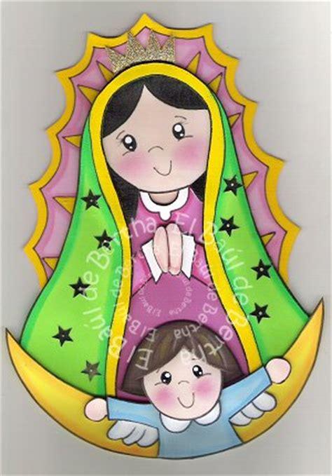 imagen virgen maria en foamy el ba 218 l de bertha cdm virgen de guadalupe en foamy