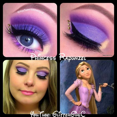 disney makeup tutorial disney rapunzel makeup glittergirlc