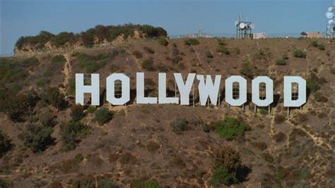 hollywood sign radio tower los angeles oct 19 2014 top of mount lee with