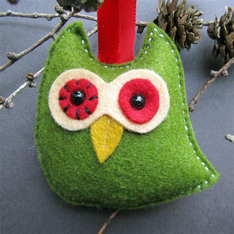 Tree Bird Decorations by Six Handmade Bird Tree Decorations By