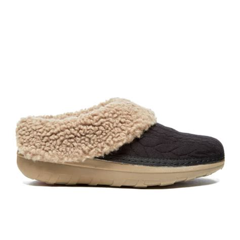 quilted slippers fitflop s loaff quilted slippers black free uk