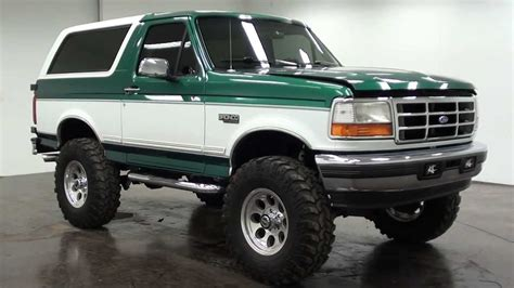 bronco car 1996 1996 ford bronco youtube