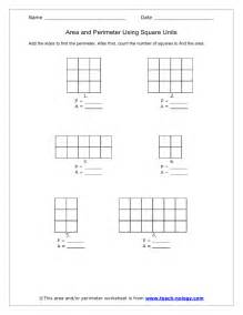 area and perimeter using square units