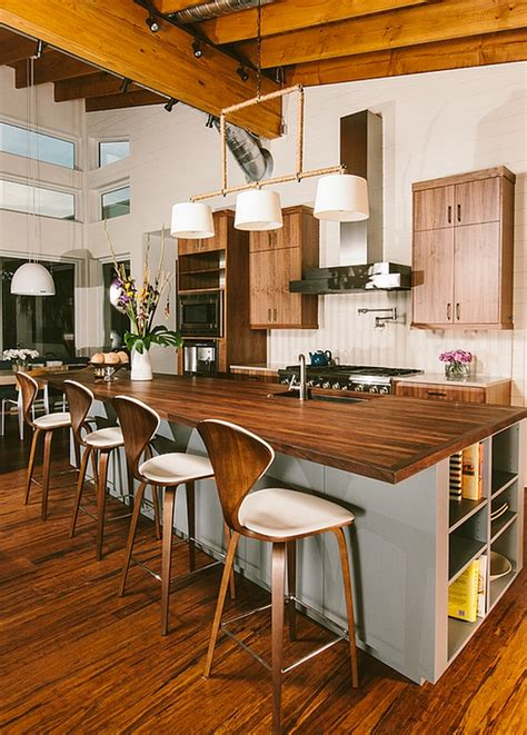 kitchen counter stools in 4 fancy designs and ideas