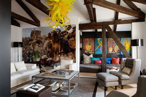 Contemporary Eclectic Interior Design Of A Venice Home