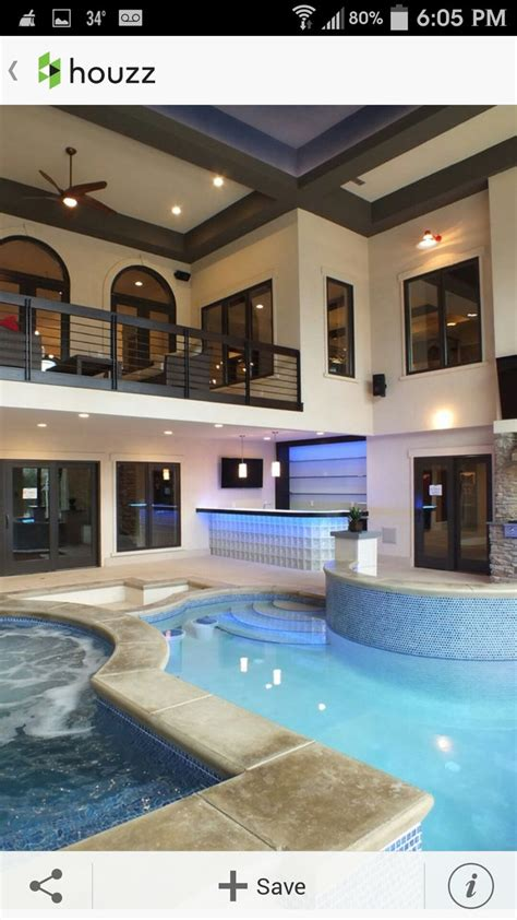 Homes  Indoor Pools House Plans Built  Pool