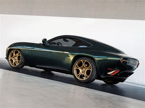 disco volante alfa romeo geneva preview alfa romeo disco volante in green