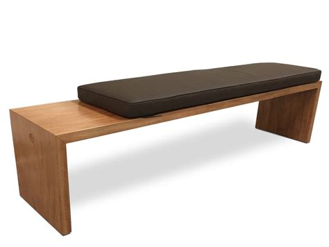 cushioned bench seating shinto cushioned bench seat fine furniture design fine art
